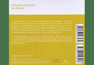 Grien,Helmut/Benrath,Martin - Die Räuber  - (CD)