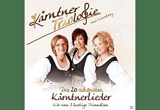 Kärntner Triologie - Die 20 Schönsten Kärntnerlieder - Wir San 3 Lustige Diandlan  - (CD)