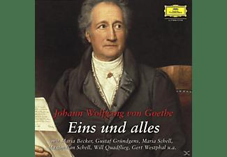 Becker/Gründgens/Quadflieg - Box Goethe Eins Und Alles  - (CD)