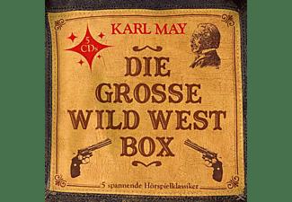 Karl May - Die Grosse Wild West Box (5  Hörspielklassiker)  - (CD)