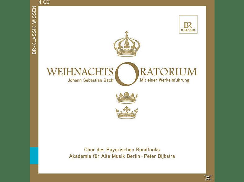 Peter & Akademie Für Alte Musik Berlin Dijkstra, Dijkstra/Akademie der Alten Künste - Weihnachtsoratorium [CD + Buch]