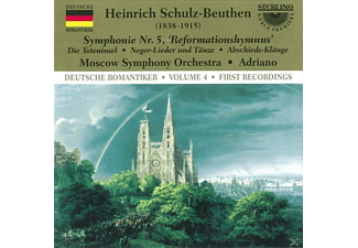 Moscow Symphony Orchestra, Schulz-beuthen - Schulz-Beuthen Sinf.5 Mit Orgel - (CD)