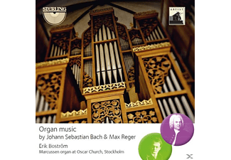 Eric Bostroem - Organ Music by Bach and Reger - (CD)