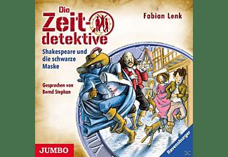 Bernd Stephan - Die Zeitdetektive 34: Shakespear und die schwarze Maske  - (CD)