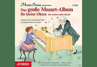 Marko Simsa - Das Grosse Mozart-Album Für Kleine Ohren.  - (CD)