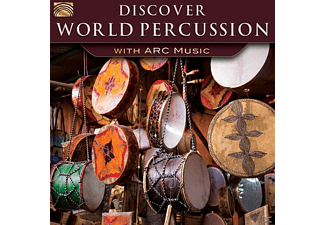 VARIOUS - Discover World Percussion-With Arc Music  - (CD)
