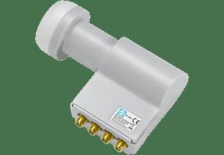 WISI OC 06D Quad-Switch LNC 40 mm 0.2 dB LNB mit integrierten Multischalter