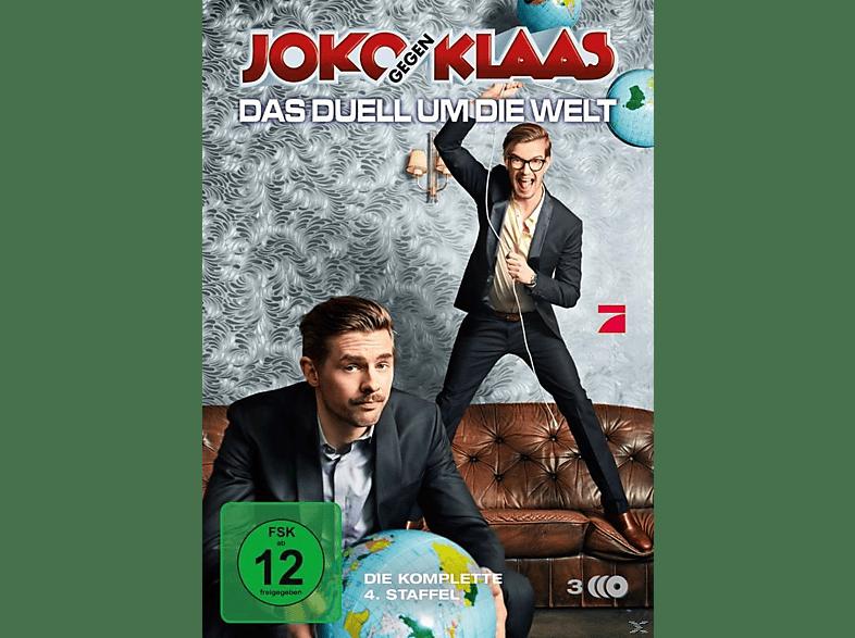 Joko gegen Klaas: Das Duell um die Welt - Die komplette 4. Staffel [DVD]