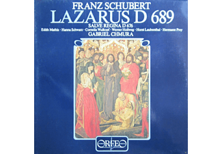 Edith Mathis, Hanna Schwarz, Cornelia Wulkopf, Werner Hollweg, Horst Laubenthal, Hermann Prey - Lazarus D 689/Salve Regina D 676  - (Vinyl)