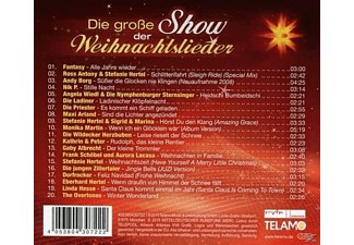VARIOUS - S.Hertel Präs.: Die Große Show Der Weihnachtsliede  - (CD)