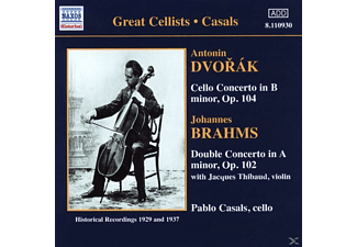 Jaques Thibaud, Pablo Casals Orchestra of Barcelona, The Czech Philharmonic Orchestra, Casals Pablo, Cortot Alfred - Cellokonzert/Doppelkonzert  - (CD)