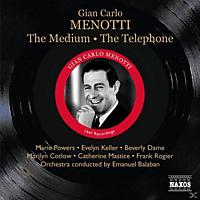 VARIOUS, Balaban/Keller/Powers/Cotlow/Rogier - The Medium/The Telephone  - (CD)
