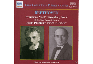 The Berlin State Opera Orchestra - Sinfonien 2+4  - (CD)