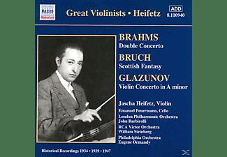 Jascha Heifetz, Emanuel Feuermann, Rca Victor Orchestra, The London Philharmonic Orchestra, The Philadelphia Orchestra - Doppelkonzert/Schottische Fant  - (CD)