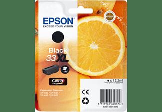 EPSON Tintenpatrone 33XL, schwarz (C13T33514012)