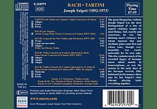 Szigeti & Fleisch, Szigeti Joseph - Violinkonzerte  - (CD)