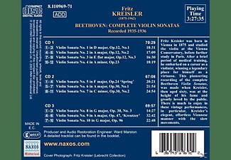 Fritz Kreisler - Sämtliche Violinsonaten 1-10 (GA)  - (CD)
