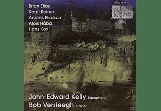 John-edward Kelly, Bob Versteegh - Werke Für Saxophon & Klavier  - (CD)