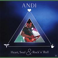 Andi - Heart, Soul & Rock'n Roll [CD]