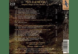 Le Concert Des Nations - Les Elements  - (SACD Hybrid)