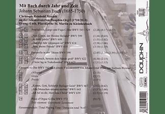 Christoph Reinhold Morath - Mit Bach durchs Jahr und Zeit  - (CD)