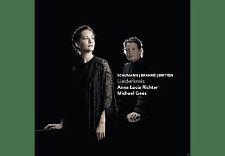 Anna Lucia Richter, Michael Gees - Liederkreis  - (CD)