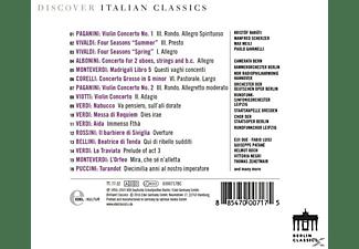 VARIOUS - Discover Italian Classics  - (CD)