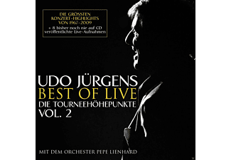Udo Jürgens - Best Of Live - Die Tourneehöhepunkte - (CD)