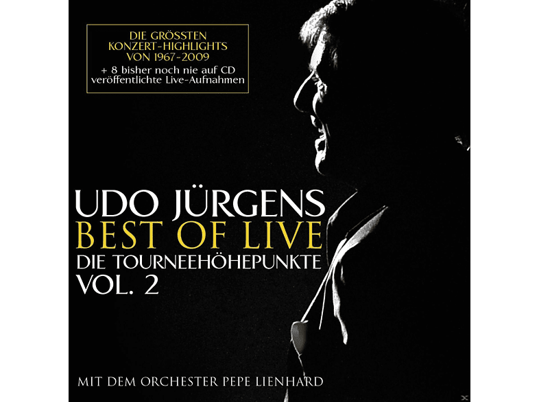 Udo Jürgens - Best Of Live - Die Tourneehöhepunkte [CD]