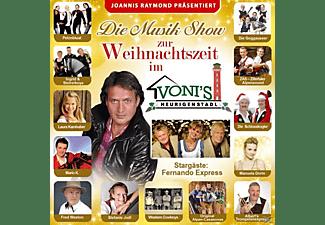 Diverse Interpreten - Die Musik Show Zur Weihnachtszeit, J.Raymond Präs  - (CD)