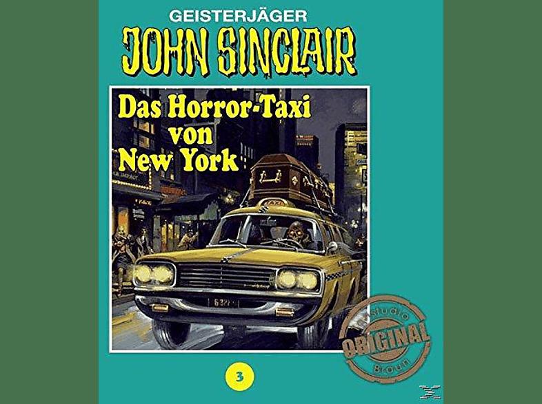 Das Horror-Taxi Von New York - John Sinclair 03: Das Horror-Taxi von New York - (CD)