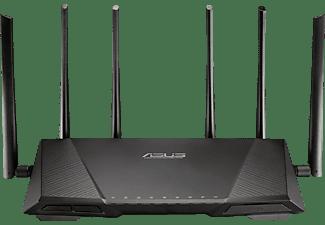 Router Inalámbrico - Asus RT-AC3200, Gigabit Tri-band