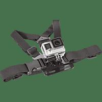 ISY IAA-1300, Brustgurt, Schwarz, passend für GoPro Actioncams