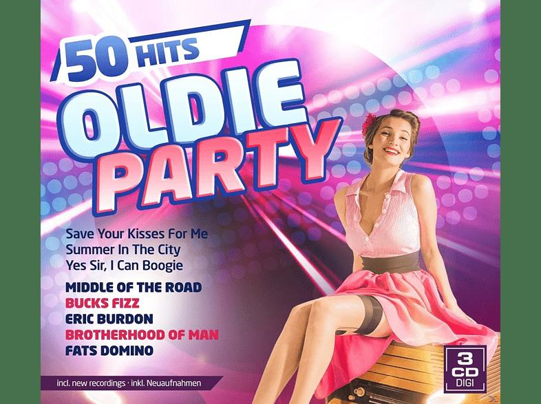 VARIOUS - Oldie Party-50 Hits [CD]