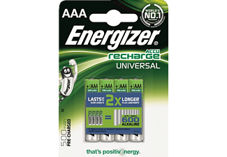 ENERGIZER F016555 AAA 500 mAh  PRECHARGED