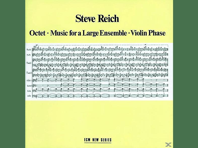 Steve Reich - OKTETT MUSIC FOR A LARGE ENSEMBLE VIOLIN PHASE [CD]