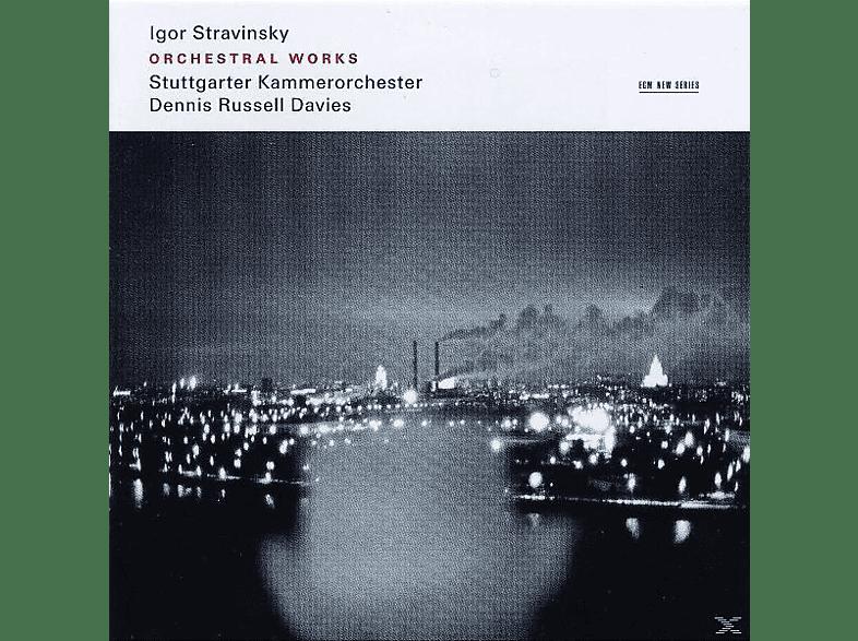 Kammerorchester Stuttgart, Dennis Russell Davies - WERKE FÜR ORCHESTER [CD]