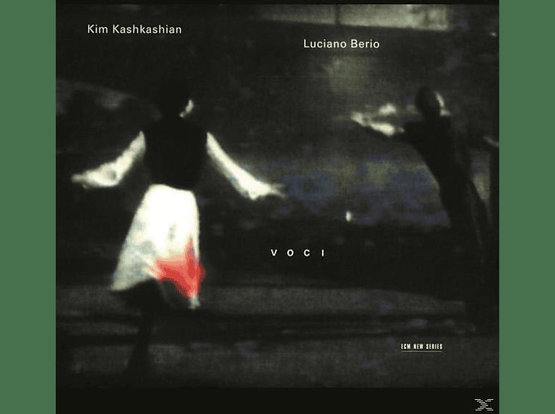 Kim Kashkashian, Kim/russell Davies Kashkashian - VOCI/NATURALE [CD]