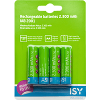 ISY IAB-2001 AA (Mignon) Batterie (wiederaufladbar) Ni-MH 4 Stück
