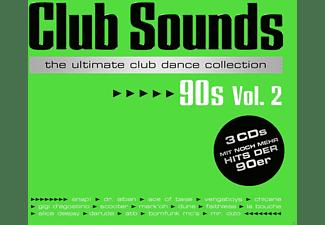VARIOUS - Club Sounds 90s - Vol.2  - (CD)