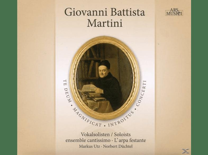 Deckert, Potter, Bittner, Milani, Cantissimo Ensem, Ensemble Cantissimo/L'Arpa Festante - Martini: Te Deum/Magnificat/Introitus/+ [CD]