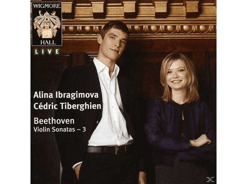 IBRAGIMOVA,ALINA & TIBERGHIEN,CÉDRIC - Beethoven: Violin Sonatas Vol. 3 [CD]