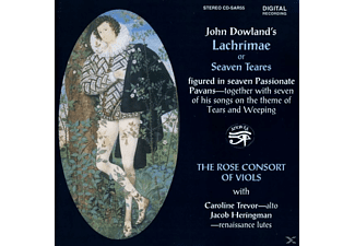 Rose Consort Of Viols - Lachrimae-or Seaven Teares - (CD)