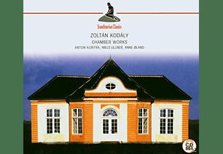 Anton Kontra (Violine), Niels Ullner (Cello), Anne;Kontra, Anton/Ullner, Niels/Ol - Chamber Works (Kodaly, Zoltan)  - (CD)