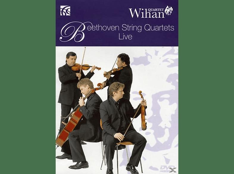 Wihan Quartet - Dvd-String Quartets Live [CD]