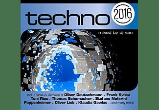 VARIOUS - Techno 2016  - (CD)