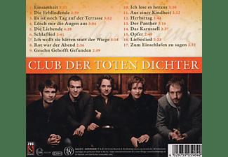 Club Der Toten Dichter - Eines Wunders Melodie  - (CD)