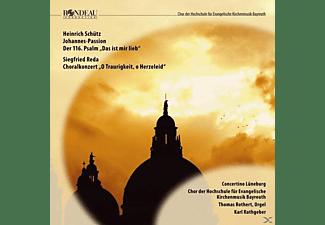 Rathgeber - Johannes Passion/Psalm 116/Choralkonzert  - (CD)