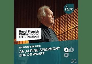 Edo De & Royal Flemish Philharmonic Waart - Eine Alpensinfonie,op.64  - (CD)
