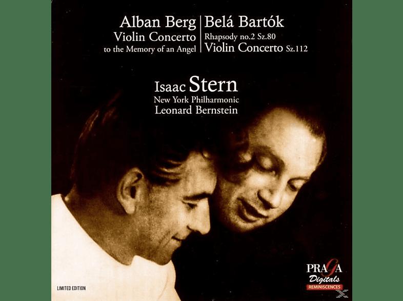 Isaac Stern (Vl), Philharmonie de New York, Leonar, Isaac/Bernstein/New York Philh. Stern - Violinkonzerte/Rhapsodie 2 [SACD Hybrid]